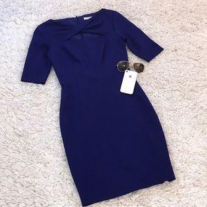 Trina Truk Bodycon Cutout Chest Dress